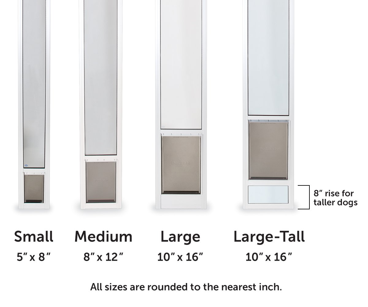 Patio Door Pet Door Insert: Sliding Door Dog Door Inserts