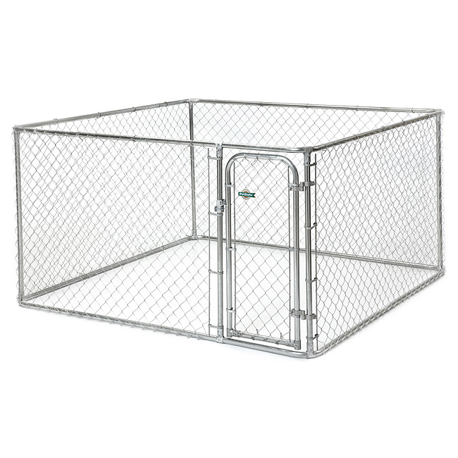 Chain Link Dog Kennel  X  X H