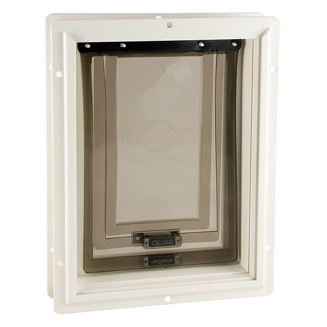 pet loki flap glass endura door medium panel dog white thermo sliding