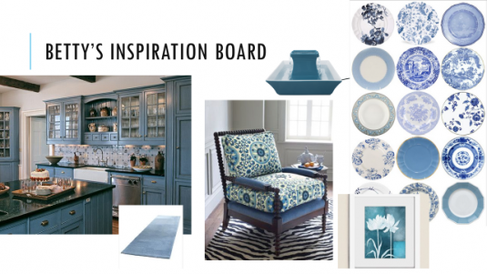 Betty Inspiration Board