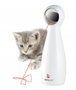 BOLT is an interactive laser toy that provides hours of fun for you and your cat or dog.