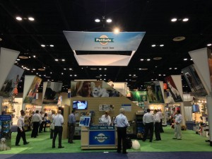 A great shot of our 2014 GPE booth!