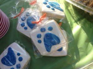 Mountain House CA made sure their efforts in Bark For Your Park we extra sweet with these logo'd cookies