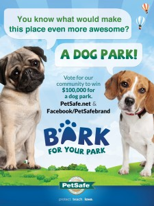 bark for your park dog park