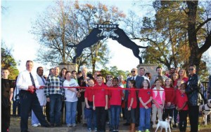 Wouldn't you love to cut the ribbon at your very own dog park?