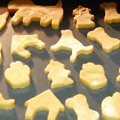 peanut butter puppy treats