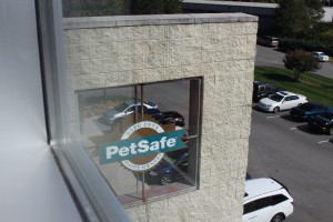 A view from inside PetSafe