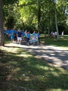 Participants at the 2013 K9 Cancer Walk