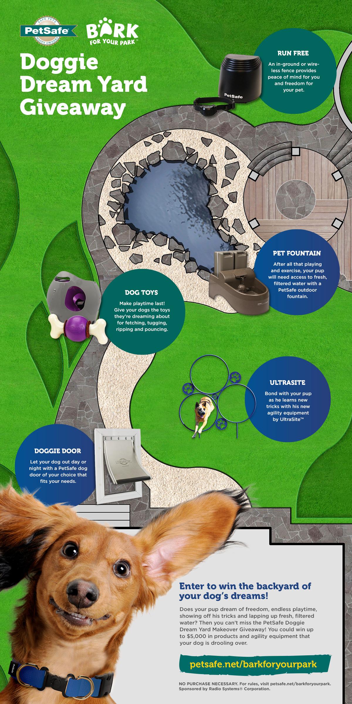 win the backyard of your dog u0027s dreams petsafe articles